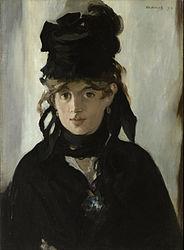 Édouard Manet: Berthe Morisot mit Veilchenstrauß