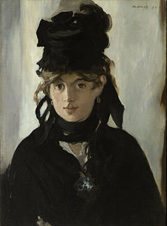 <i>Berthe Morisot with a Bouquet of Violets</i> painting by Édouard Manet, 1872