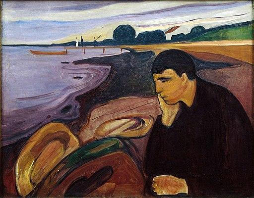 Edvard Munch - Melancholy (1894-96)