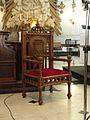 Eglise Saint-Acheul, Amiens chaise.JPG