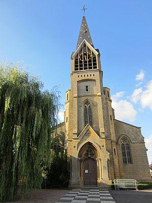 Amanvillers - Image: Eglise d'Amanvillers
