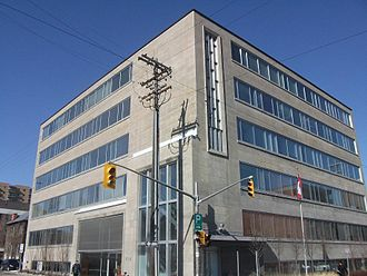 Ekos Research Associates - The headquarters for EKOS Research is at 359 Kent St. in Ottawa, at the former headquarters of the Royal Canadian Legion.