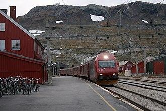 Finse - Finse station