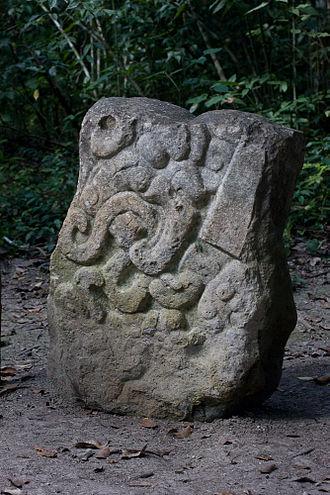 El Mirador - Stela 2 at El Mirador.