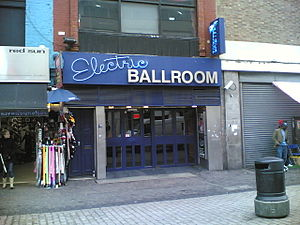 Electric Ballroom - The entrance to the Electric Ballroom.