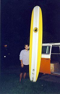 An 11-foot long board