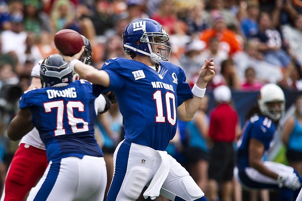 Eli Manning 2013 Pro Bowl