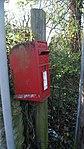 Elizabeth II post box, Barleyfields Road, Wetherby (31st December 2017).jpg