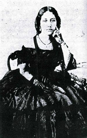 Franklin Seaver Pratt - High Chiefess Elizabeth Kekaʻaniau Laʻanui, wife of Franklin Seaver Pratt