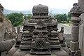 Ellora Caves, India, Shikhar of Indra Sabha Temple.jpg