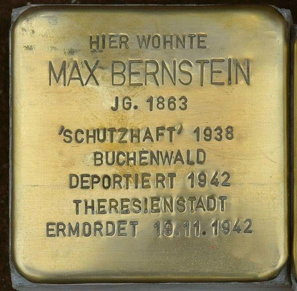File:Ellrich-Stolperstein-Max-Bernstein-CTH.JPG