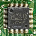 Elta Micro Music-Center with CD-Player - board - Silan Microelectronics SC9637BP-92633.jpg