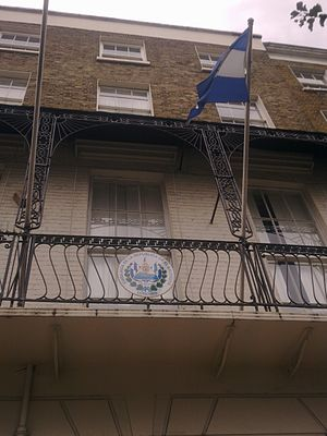 Embassy of El Salvador, London - Image: Embassy of El Salvador in London 2
