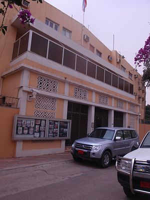 Embassy of Russia in Tripoli, Libya