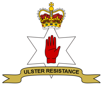 Ulster Resistance - Emblem used by the Ulster Resistance.