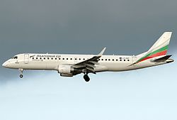 Embraer 190 der Bulgaria Air
