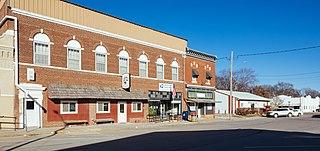 Emerson, Iowa City in Iowa, United States