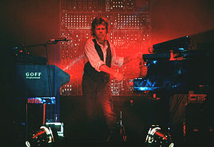 Keith Emerson - Emerson performing with ELP in 1992