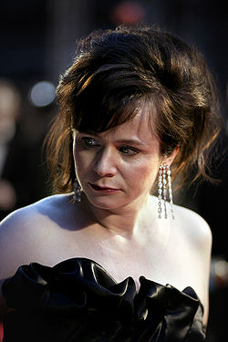 Emily Watson at the Orange British Academy Film Awards in London's Royal Opera House in February 2007