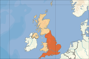 The United Kingdom, much of which was placed on flood alert. Image: David Liuzzo.