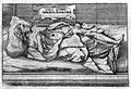 Engraving of Apollonia Schreier after her fast of 11 months. Wellcome L0007598.jpg