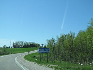 South Bruce Peninsula - Entering South Bruce Peninsula from Highway 21