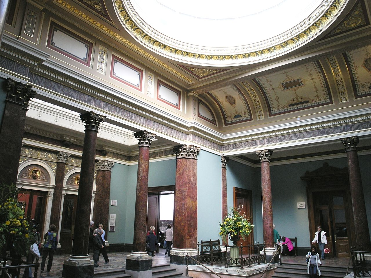 File Entrance Hall Of The National Gallery London Jpg