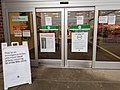 Entrance signs at Target during the pandemic in Arvada, Colorado. 2020-05-27.jpg