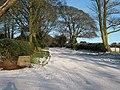 Entrance to Beacon Farm, Beacon Lane - geograph.org.uk - 1626879.jpg