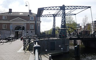 "Entrepôt - The entrepot dock of Amsterdam completed in 1830 as a warehouse to store goods ""entrepot"", or tax-free in transit"