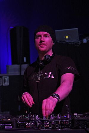 Eric Prydz - Prydz at Glastonbury in 2009