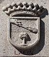 Escudo de Lalín na praza de Lalín. Escaldes-Engordany. Andorra 50.jpg