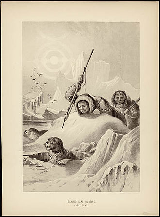 Seal hunting - Inuit seal hunting