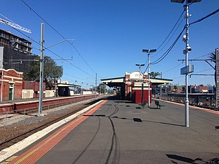Essendon railway station
