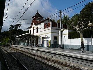 Valldoreix (Barcelona–Vallès Line) Spanish railway station