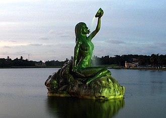 Iracema - Statue in honor of Iracema in Fortaleza