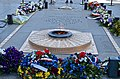 Eternal Flame, Arc de Triomphe, Paris 17 May 2014.jpg