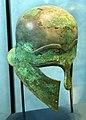 Etruria o magna grecia, elmo di tipo corinzio, 01.jpg
