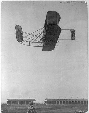 Eugène Lefebvre - Eugène Lefebvre at Grande Semaine d'Aviation de la Champagne, Reims (Sept. 1909)