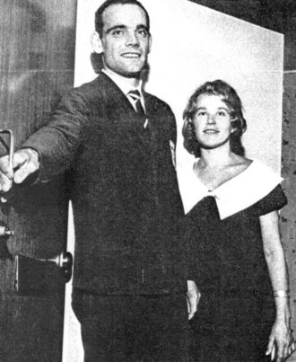 Eugen Ekman - Ekman with wife in 1960