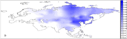 Eurasian frequency distributions of mtDNA haplogroup D.png