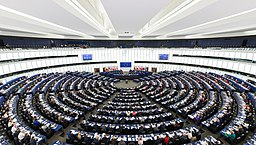 European Parliament Strasbourg Hemicycle - Diliff