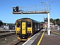Exeter St Davids - GWR 150202 arriving from Barnstaple.JPG