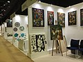 Exhibiting stalls in World Art Dubai.jpg