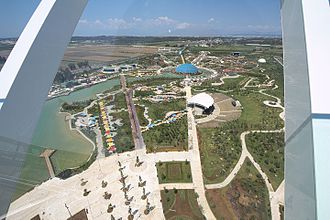Expo 2016 - West view from Turkcell Expo Tower
