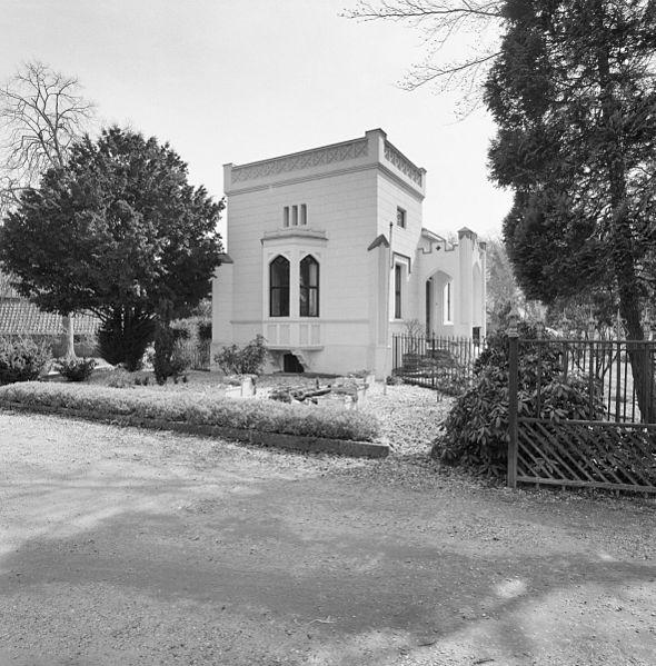 File exterieur follie huis sandwijck linker zijgevel met erker voorgevel bilt de 20314037 - Huis exterieur ...
