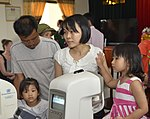 Eye screening for kindergarten children in Quoc Oai district of Hanoi (14287754216).jpg