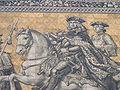 Fürstenzug - Augusto II e III (dresda).JPG