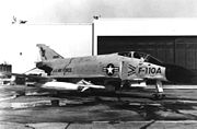 This McDonnell F-4B-9i (F4H-1) from the U.S. Navy (BuNo 149405) was redesignated F-110A and later F-4C with USAF S/N 62-12168. (U.S. Air Force photo)