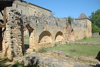 Saint-Avit-Sénieur - Ruins of the cloister